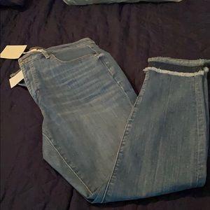 NWT* Loft curvy skinny jeans size 10